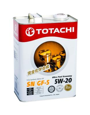 Totachi Ultra Fuel Fully Synthetic SN 5W-20, 4л .