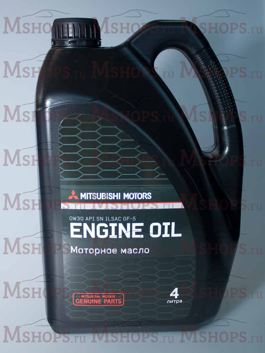 Масло моторное Mitsubishi ENGINE OIL 0W-30 5л. Артикул: MZ320754