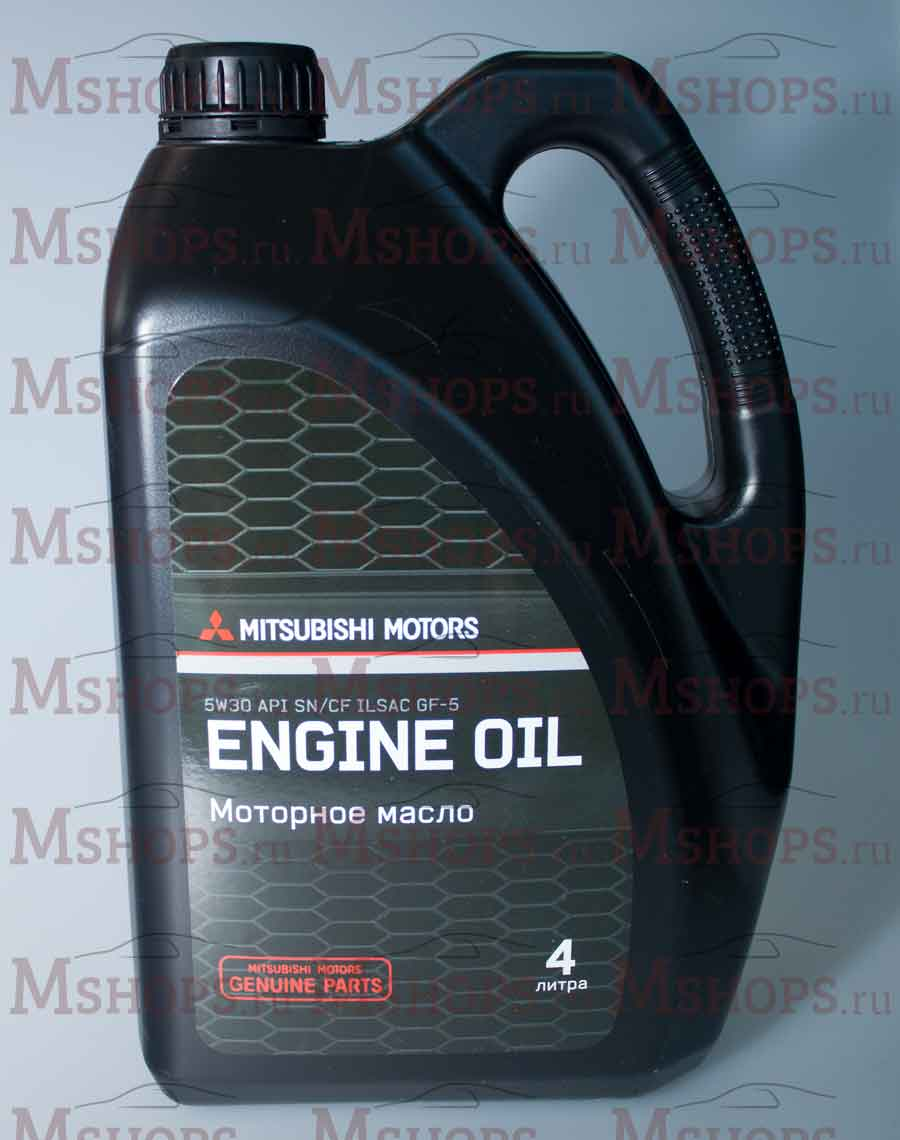 Масло моторное Mitsubishi ENGINE OIL 5W30 4л. Артикул: MZ320757
